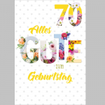 Billette Geburtstag 70Jahre