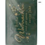 Geldkuvert Weihnachten mini 7x11cm