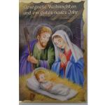 Billette Weihnachten Gesegnet 11,5x17cm