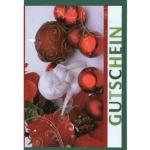 Billette Weihnachten Gutschein EAN 11,5x16cm