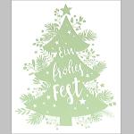 Billette Weihnachten mini EAN 6,5x8cm