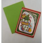 Anhänger Weihnachten mini mit Kuvert