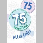 Billette Geburtstag 75Jahre EAN