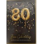 Billette Geburtstag 80-90Jahre EAN