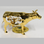Figur Crystal Kuh gold