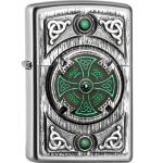 FZ Zippo Celtic Green Cross