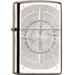 FZ Zippo Black Ice Kompass