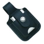 Zippo-Tascherl schwarz f. Gürtel