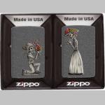 FZ Zippo Day of Dead Skull Set