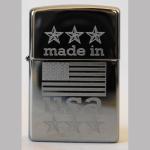 FZ Zippo Made in USA Flag