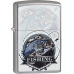 FZ Zippo Bass Fishing Design