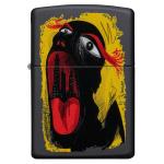 FZ Zippo Abstract Mouth Design