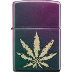 FZ Zippo Cannabis Design
